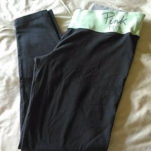 PINK yoga pants size medium